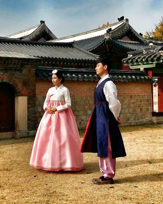 Una boda en el Palacio imperial Gyeongbokgung